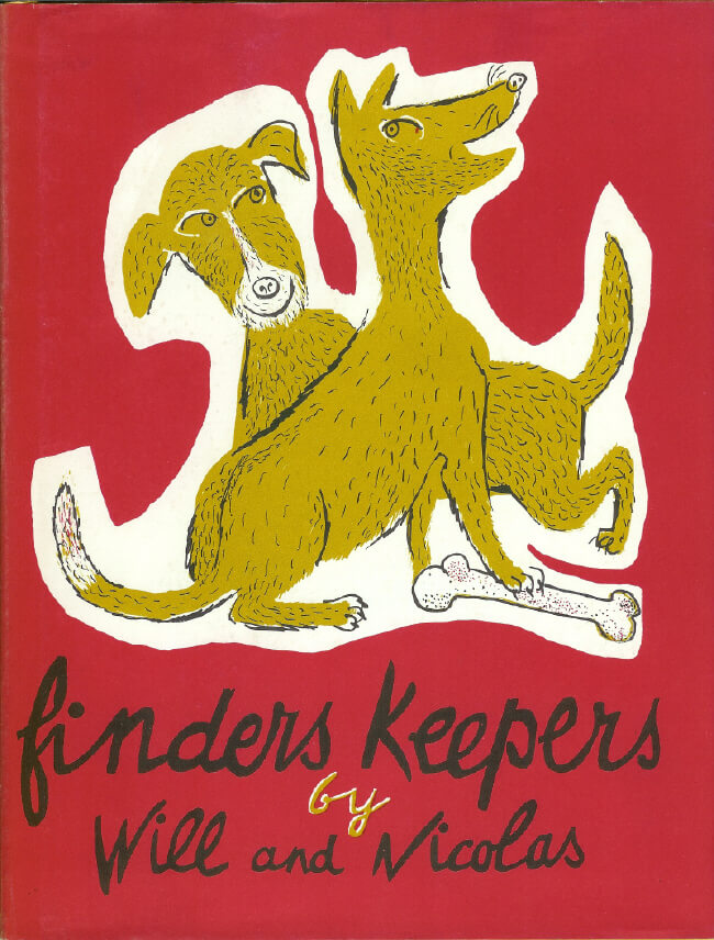 (洋書・英文)finders keepers (邦題 みつけたものとさわったもの)