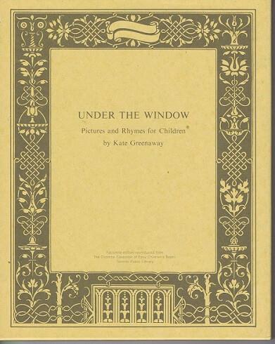 UNDER THE WINDOW 窓の下で (復刻 世界の絵本館 オズボーン・コレクション)