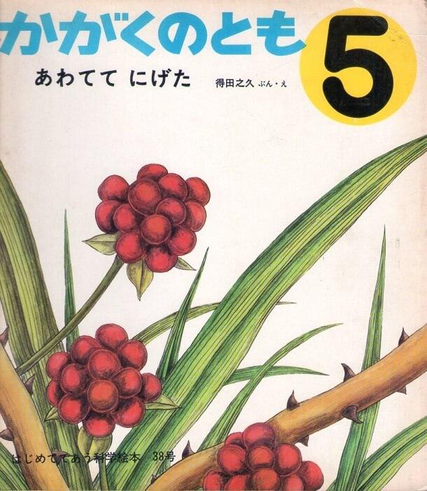 あわてて にげた かがくのとも 通巻38号 (1972年5月号) はじめてであう科学絵本