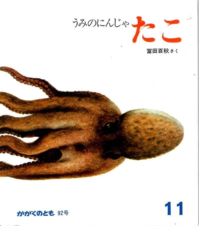 うみのにんじゃ たこ かがくのとも 通巻92号 (1976年11月号)