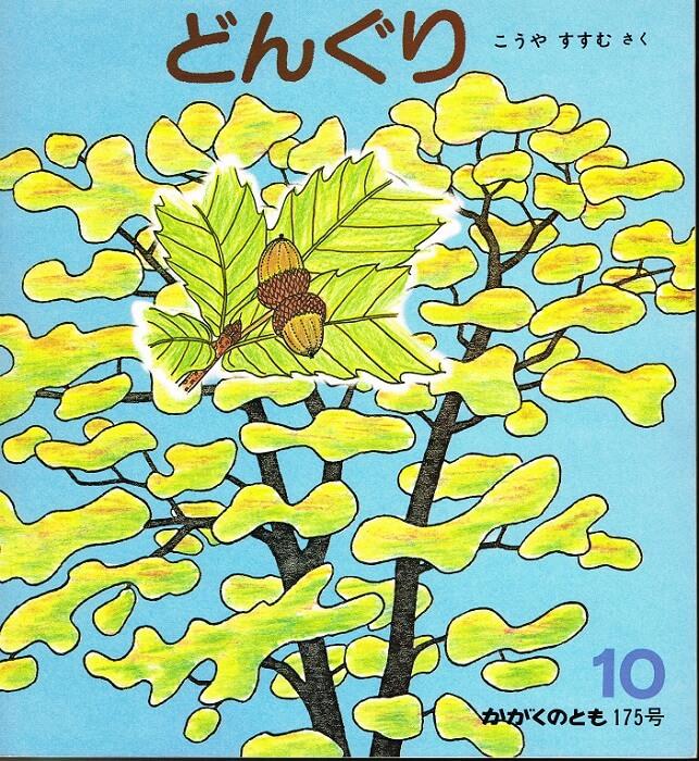 どんぐり かがくのとも 通巻175号 (1983年10月号)