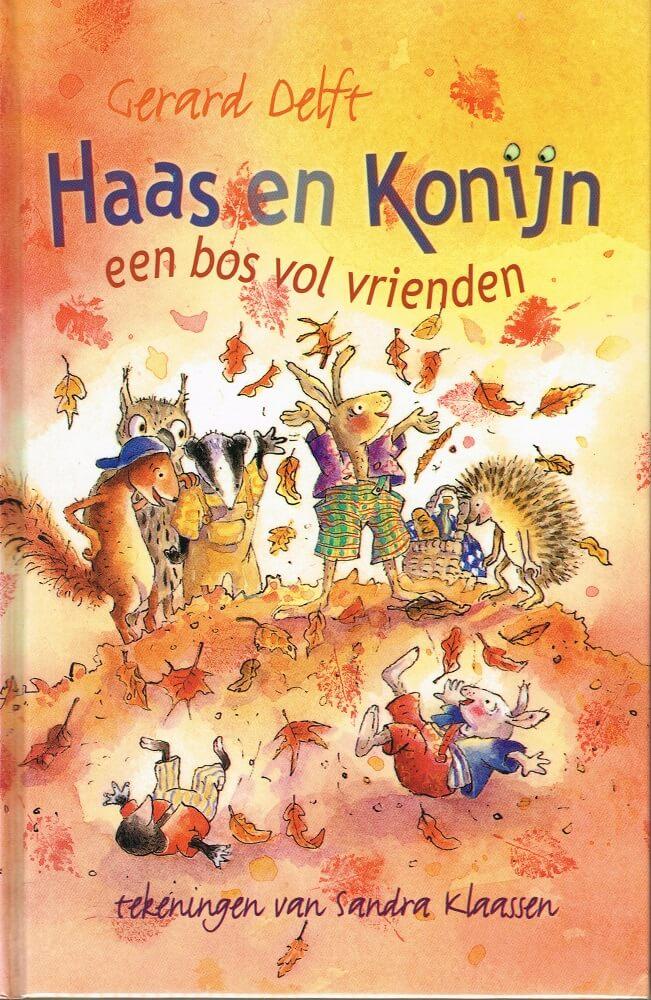 (洋書 オランダ)Haas en Konijn een bos vol vrienden