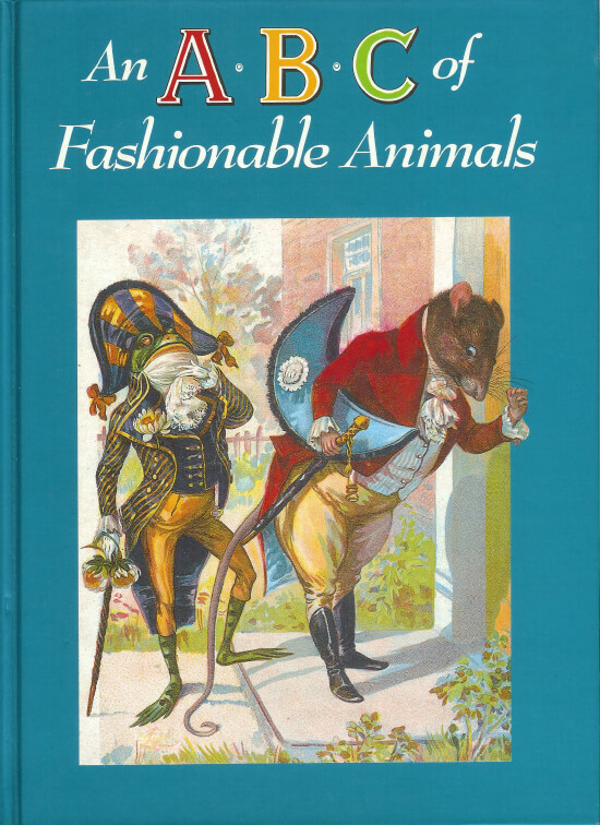 (洋書・英語)An A・B・C of Fashionable Animals